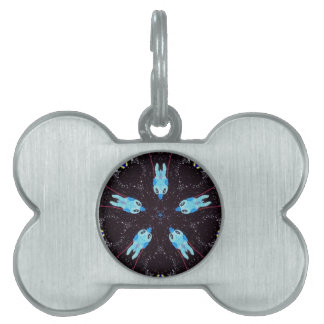 Space dock pet tag