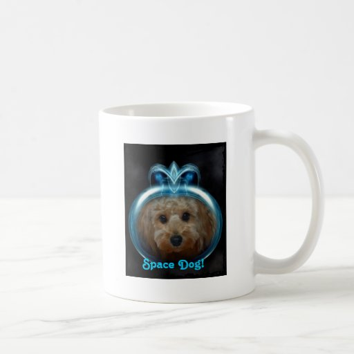 Space Dog! - Dual Design Cup Classic White Coffee Mug