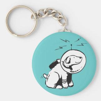 Space Dog Keychain