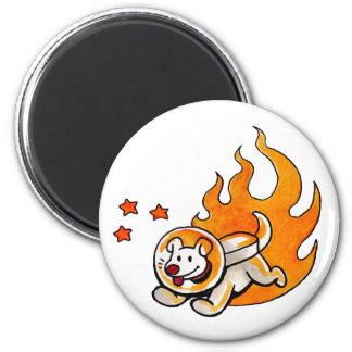 Space Dog Magnet