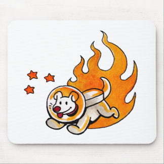 Space Dog Mouse Pad