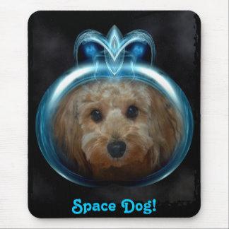 Space Dog! - Mousepad