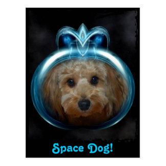 Space Dog! - Postcard