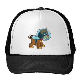 Space Dog Trucker Hat
