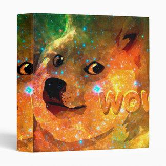 space - doge - shibe - wow doge binder