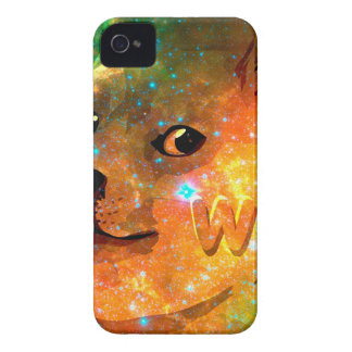 space - doge - shibe - wow doge Case-Mate iPhone 4 case