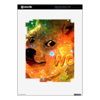 space - doge - shibe - wow doge decal for the iPad 2