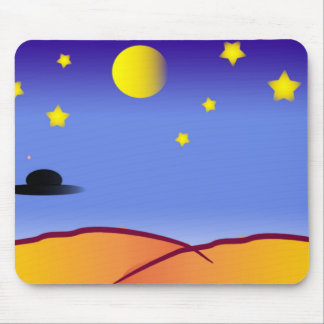 Space Drawing Mouse Pad