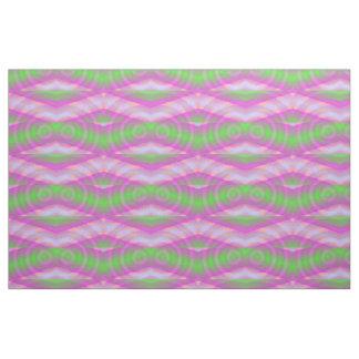 Space Drive / Time Warp - Purple / Green - Fabric