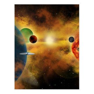 Space Dust Postcard
