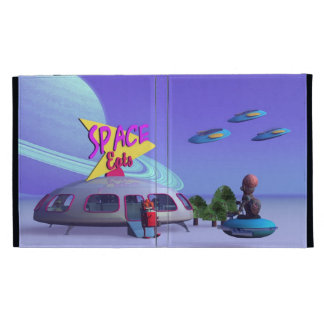 Space Eats Cafe iPad Cases