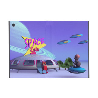 Space Eats Cafe Covers For iPad Mini