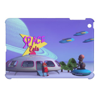 Space Eats Cafe Cover For The iPad Mini