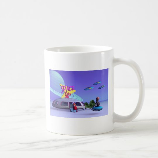 Space Eats Cafe Mug