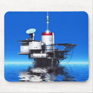 Space Elevator Mouse Pad