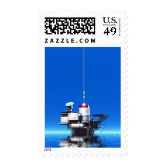 Space Elevator Postage Stamp