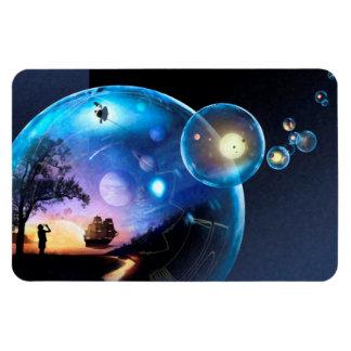 Space Exploration Artwork Voyager Spacecraft Magnet