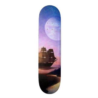 Space Exploration Artwork Voyager Spacecraft Skateboard Deck