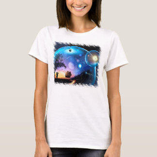 Space Exploration Artwork Voyager Spacecraft T-Shirt