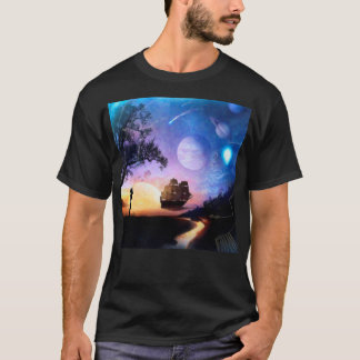 Space Exploration Artwork Voyager Spacecraft T-Shirt