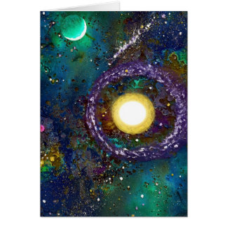 Space Exploration Card
