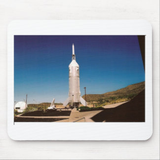 Space Exploration Rocket Mouse Pad
