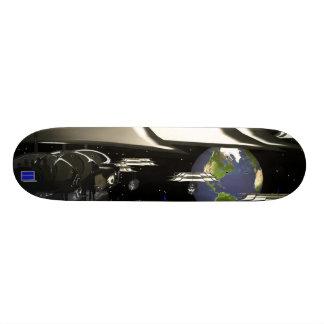 Space faceconomics skateboards