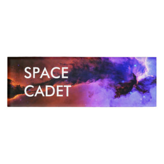 Space Fairy Name Tag