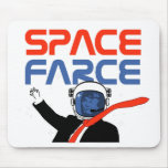 Space Farce! Mouse Pad