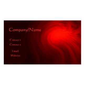 Space Fire Business Card