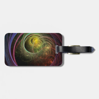 Space Fireworks Bag Tag