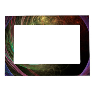 Space Fireworks Magnetic Picture Frame