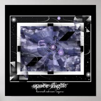 Space Flight Print
