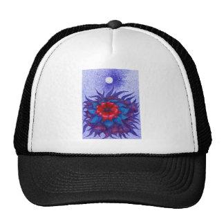 Space Flower Trucker Hat