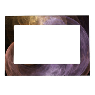 Space Flowers Photo Frame Magnets