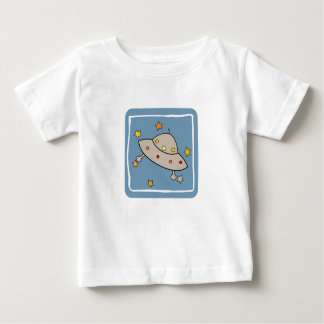 Space Flying Saucer Baby T-Shirt