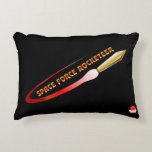 Space Force Rocketeer Accent Pillow