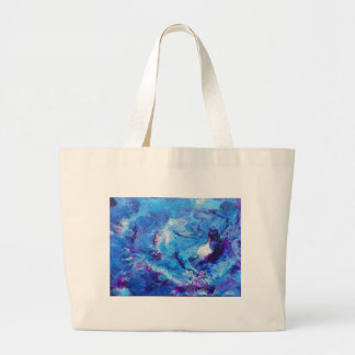 SPACE FOSSILS LARGE TOTE BAG