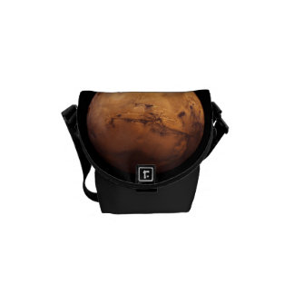Space Full Color of the Planet Mars Courier Bag