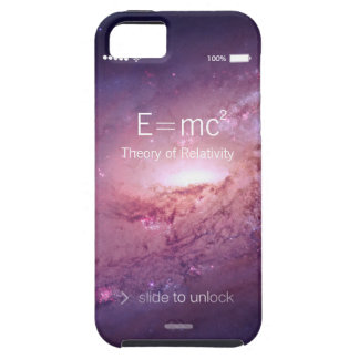 Space Galaxy Albert Einstein Theory of Relativity iPhone 5 Cover