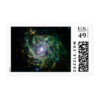 Space-Galaxy IC 342 Postage