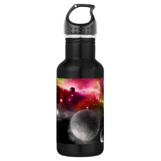 Space Galaxy Liberty Stainless Steel Water Bottle