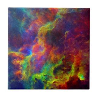 Space, Galaxy, Universe Ceramic Tile
