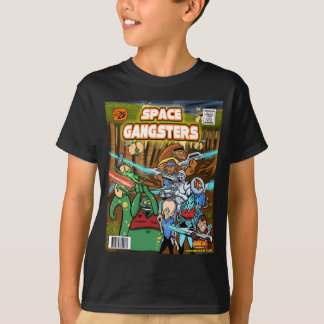 Space Gangsters vintage Comic Cover T-Shirt