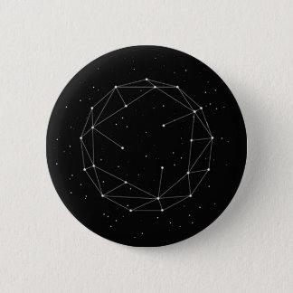 Space Geometry Pinback Button