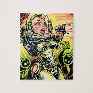 Space Girl 20 Puzzle