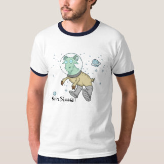 Space Goats Men's Ringer T-Shirt