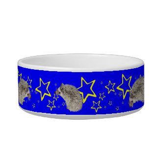 Space Hedgehog Stars food bowl