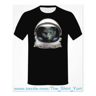 Space Helmet Astronaut Cat Full Color Flyer
