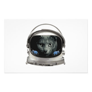 Space Helmet Astronaut Cat Stationery